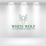 White Wolf Consulting (optional LLC) Logo - Entry #477