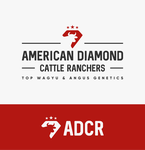 American Diamond Cattle Ranchers Logo - Entry #68