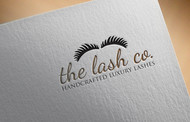 the lash co. Logo - Entry #111