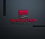 Revolution Fence Co. Logo - Entry #128