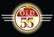 """""""OLD 55"""" - mid-century vintage furniture and wares store Logo - Entry #25"""