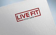Live Fit Stay Safe Logo - Entry #135