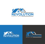 Revolution Roofing Logo - Entry #521