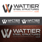 Wattier Steel Structures LLC. Logo - Entry #42