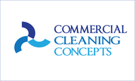Commercial Cleaning Concepts Logo - Entry #65