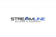 STREAMLINE building & carpentry Logo - Entry #127