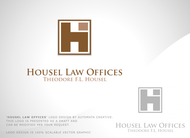 Housel Law Offices  : Theodore F.L. Housel Logo - Entry #10