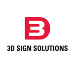 3D Sign Solutions Logo - Entry #125