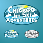 Chicago Jet Ski Adventures Logo - Entry #18