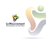 Le Mouvement des Entreprises du Val d'Oise Logo - Entry #26