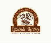Escalante Heritage/ Hole in the Rock Center Logo - Entry #81
