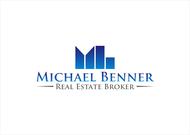 Michael Benner, Real Estate Broker Logo - Entry #67