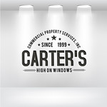 Carter's Commercial Property Services, Inc. Logo - Entry #100