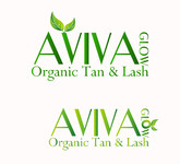 AVIVA Glow - Organic Spray Tan & Lash Logo - Entry #5