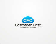 Customer First Communications Logo - Entry #67