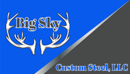 Big Sky Custom Steel LLC Logo - Entry #71