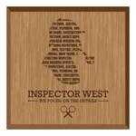 Inspector West Logo - Entry #168