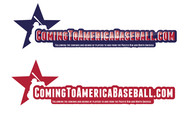 ComingToAmericaBaseball.com Logo - Entry #21