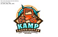 KAMPcoordinator : Kids' Adventure Mapping Program   Logo - Entry #32
