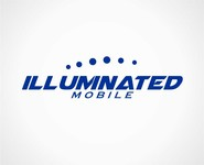 Illuminated Mobile  OR Illuminated M ... I own both urls and I'm still considering what brand to lead with. Logo - Entry #166