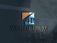4P Wealth Trust Logo - Entry #131