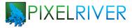 Pixel River Logo - Online Marketing Agency - Entry #246