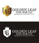 Golden Leaf Nail Bar LLC Logo - Entry #2