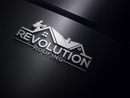 Revolution Roofing Logo - Entry #282