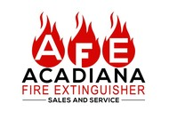 Acadiana Fire Extinguisher Sales and Service Logo - Entry #263