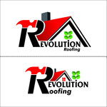 Revolution Roofing Logo - Entry #264