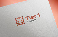 Tier 1 Products Logo - Entry #317