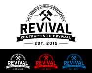 Revival contracting and drywall Logo - Entry #102