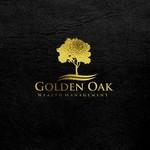 Golden Oak Wealth Management Logo - Entry #41