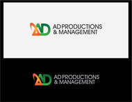 Corporate Logo Design 'AD Productions & Management' - Entry #139