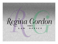 Regina Gordon Law Office  Logo - Entry #103