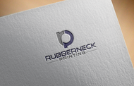 Rubberneck Printing Logo - Entry #14