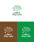 Live Fit Stay Safe Logo - Entry #93