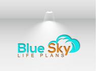Blue Sky Life Plans Logo - Entry #50