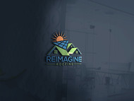 Reimagine Roofing Logo - Entry #74