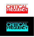 Critical Frequency Logo - Entry #22