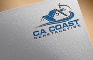 CA Coast Construction Logo - Entry #222