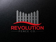 Revolution Fence Co. Logo - Entry #112