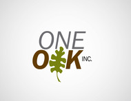 One Oak Inc. Logo - Entry #92