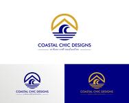 Coastal Chic Designs Logo - Entry #106