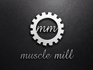 Muscle MIll Logo - Entry #66