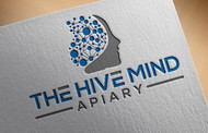 The Hive Mind Apiary Logo - Entry #29