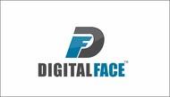 Digital Face Logo - Entry #15