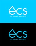 Elite Construction Services or ECS Logo - Entry #256