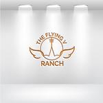 The Flying V Ranch Logo - Entry #48