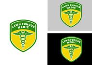 Lawn Fungus Medic Logo - Entry #167